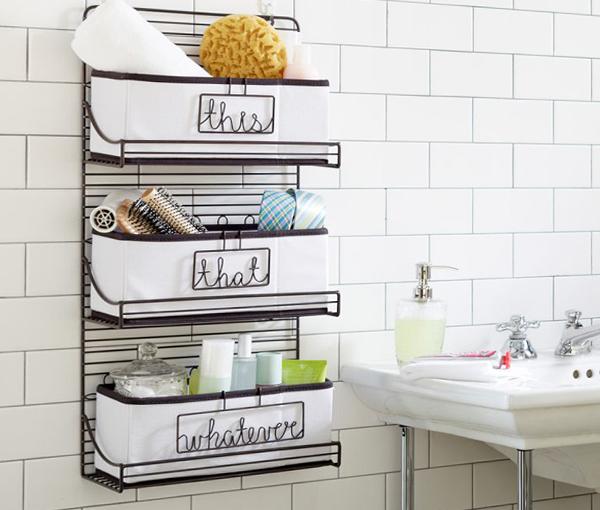 Подвесные шкафчики и навесные полки для ванной - 2