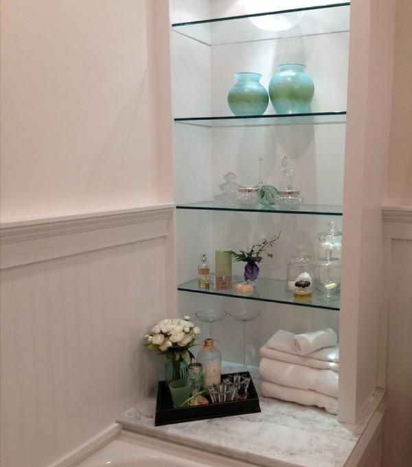 Подвесные шкафчики и навесные полки для ванной - 4