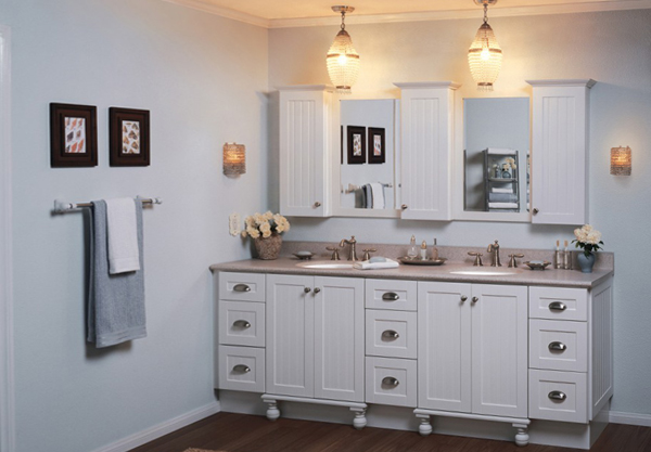Мебель для ванной комнаты (тумба) -2
