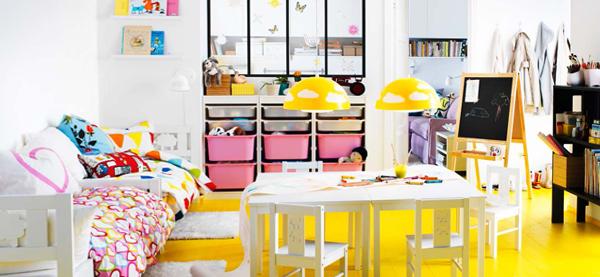 Мебель Икеа для детской (столик) – 3