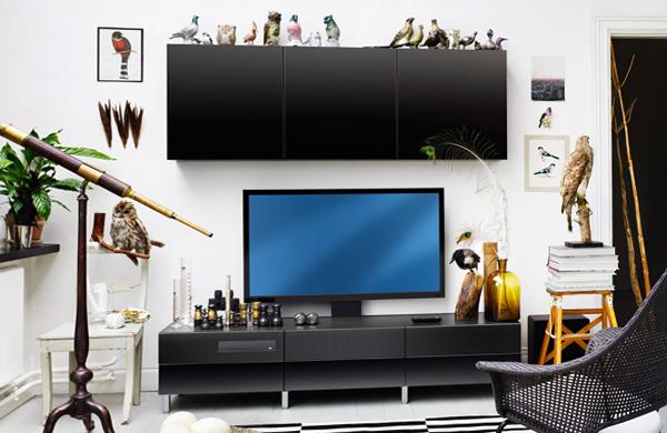Мебель от Икеа для гостиной (для ТВ) – 2