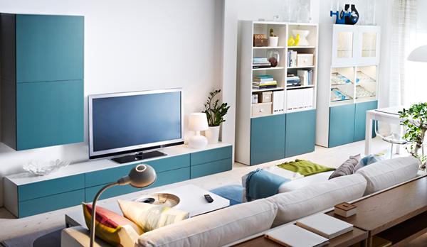 Мебель от Икеа для гостиной (для ТВ) – 5
