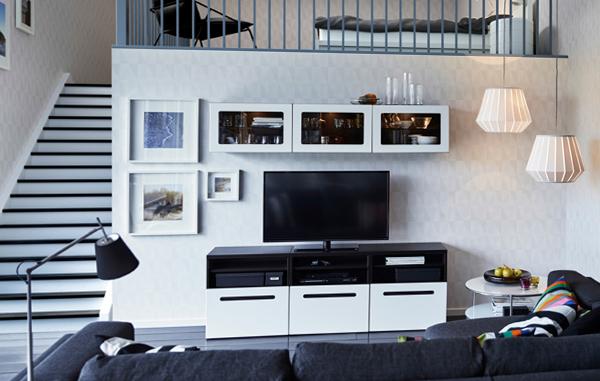 Мебель от Икеа для гостиной (для ТВ) – 6