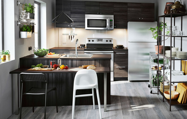 Мебель Икеа для кухни (планировка) – 1