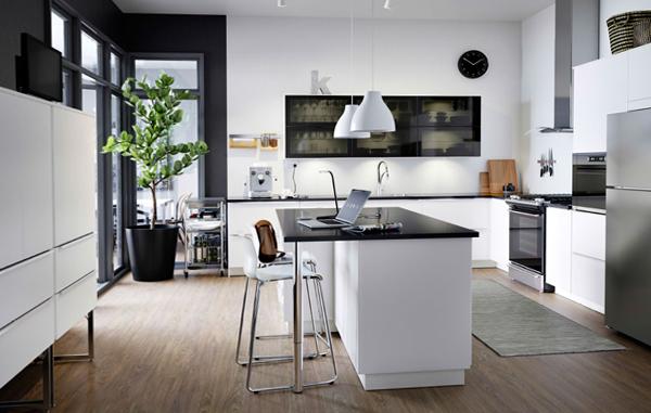 Мебель Икеа для кухни (планировка) – 2