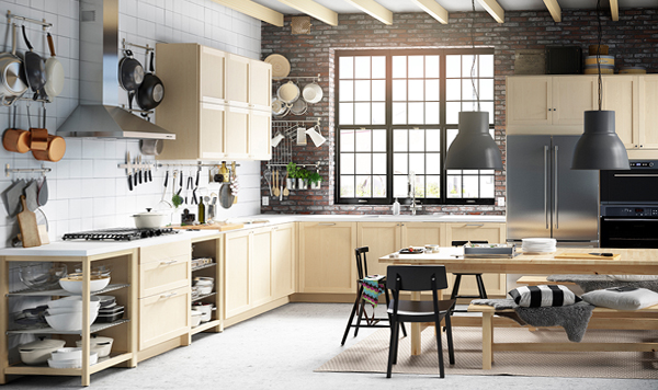 Мебель Икеа для кухни (планировка) – 3