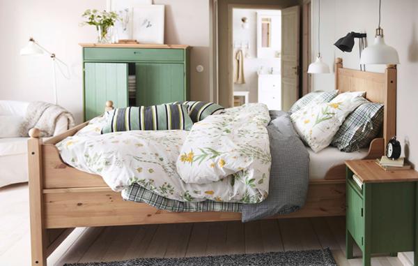 Мебель Икеа для спальни (кровать) – 1