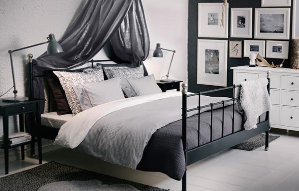 Мебель Икеа для спальни (кровать) – 2