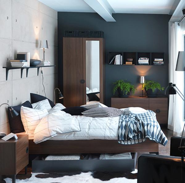 Мебель Икеа для спальни (кровать) – 4