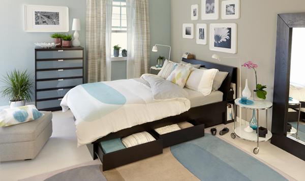 Мебель Икеа для спальни (кровать) – 5