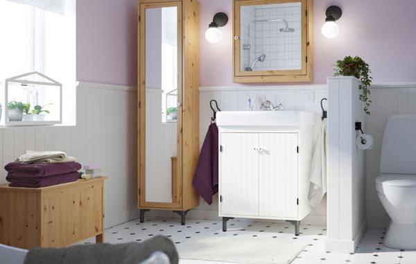 Мебель от Икеа для ванной (хранение) – 2