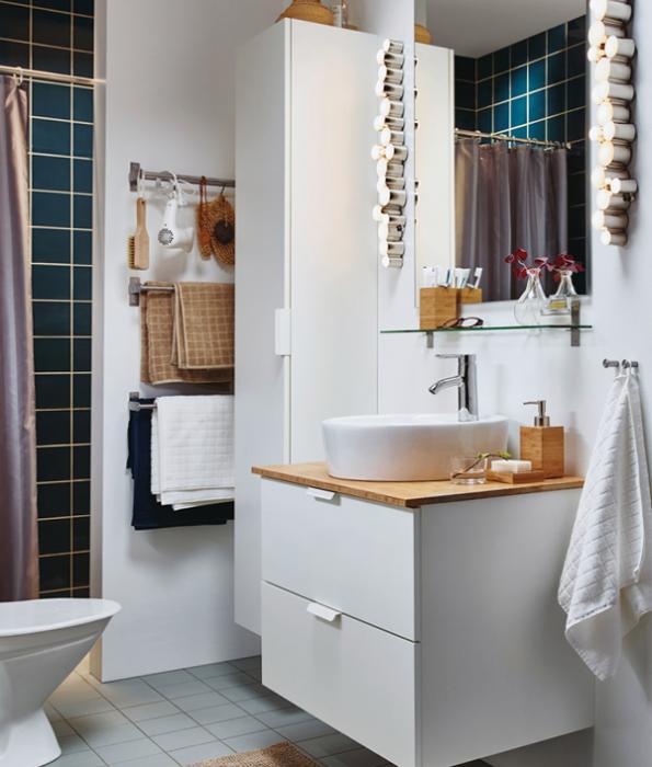 Мебель Икеа для ванной (тумба для раковины) – 1