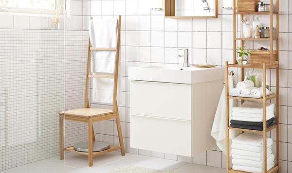 Мебель Икеа для ванной (тумба для раковины) – 3