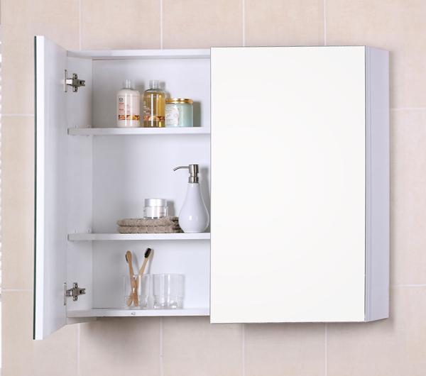 Мебель Икеа для ванной (шкафчик с зеркалом) – 1