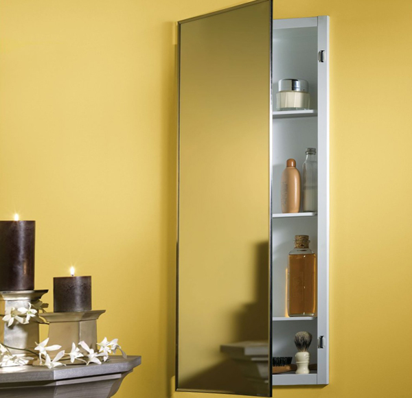 Мебель Икеа для ванной (шкафчик с зеркалом) – 3