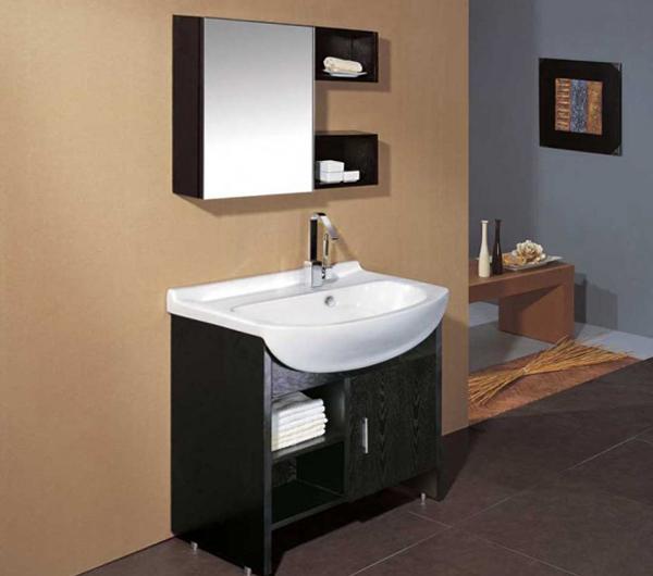 Мебель Икеа для ванной (шкафчик с зеркалом) – 4