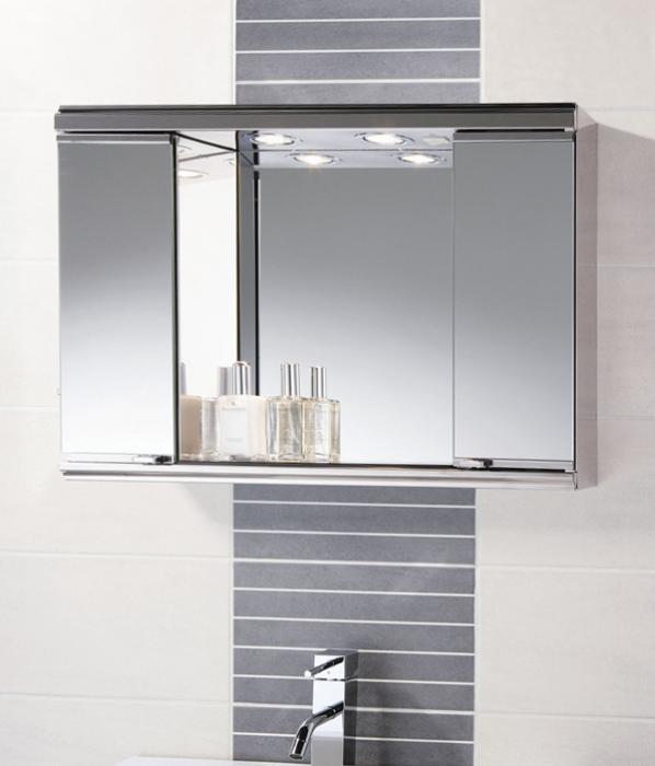 Мебель Икеа для ванной (шкафчик с зеркалом) – 6