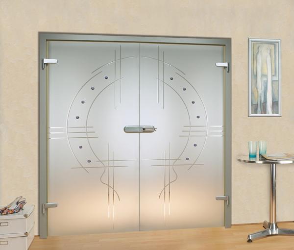 Двери из стекла - 02