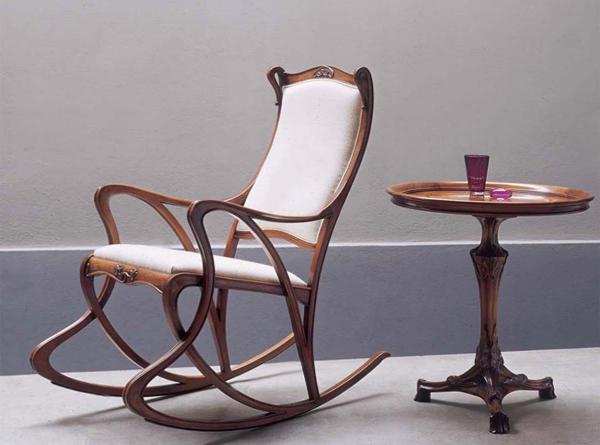 Мягкая мебель (кресло качалка) – 1
