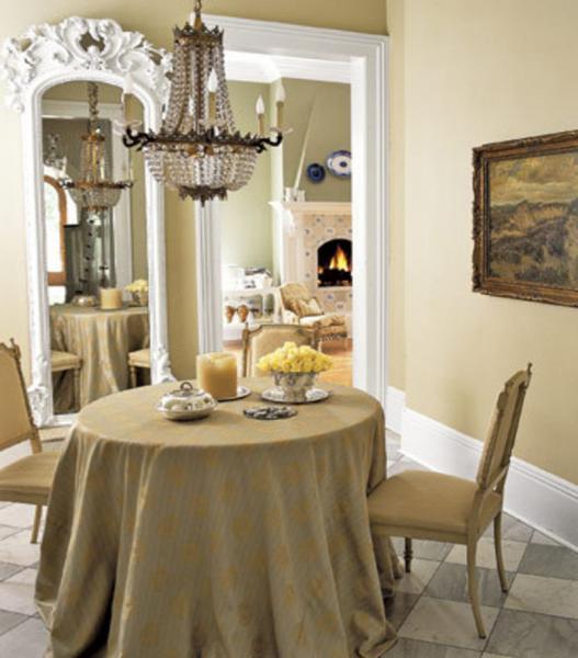 Обеденный стол в гостинной:фото 2