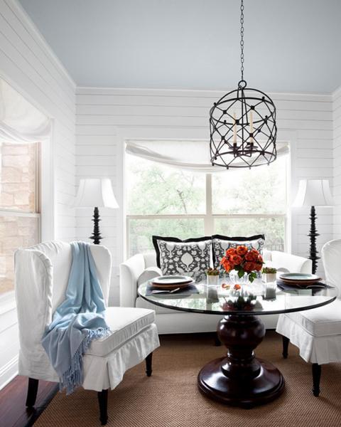 Обеденный стол в гостинной:фото 4