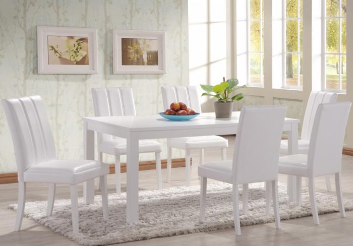 Обеденный стол в гостинной:фото 5