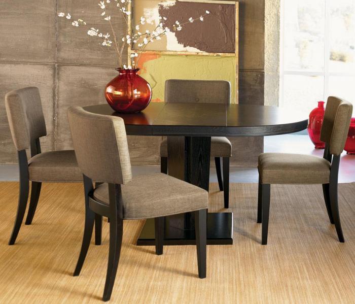 Обеденный стол в гостинной:фото 6