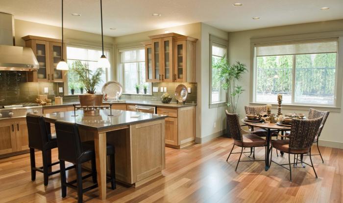 Обеденный стол в кухне: фото 6