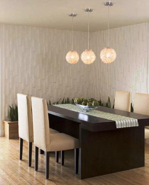 Обеденный стол в гостинной 2