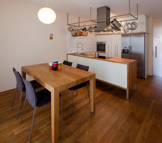 Обеденный стол для маленькой кухни - 3