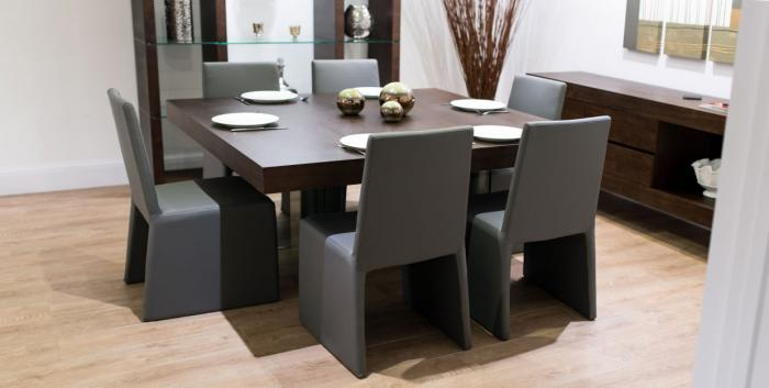 Квадратнаяформа обеденного стола - 4