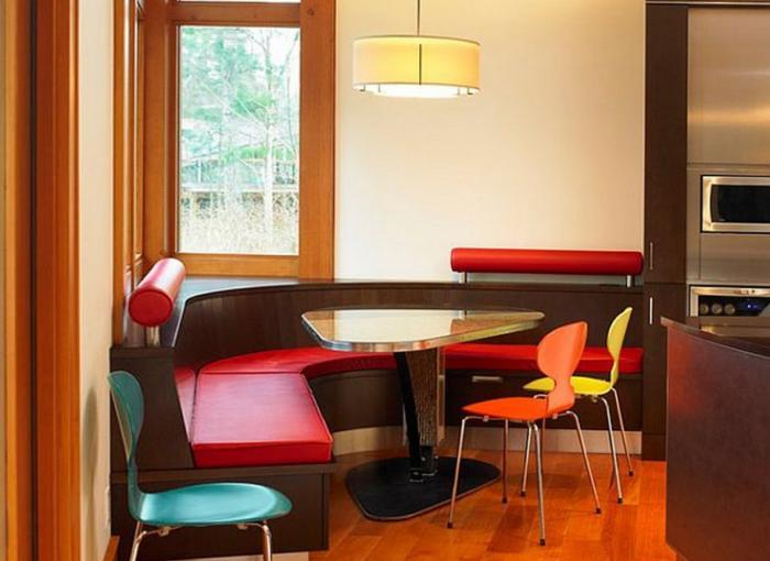 Оригинальная форма обеденного стола - 4