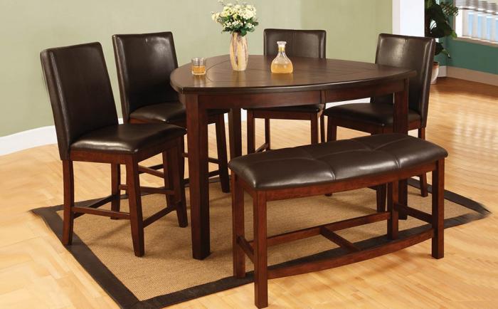 Оригинальная форма обеденного стола - 5