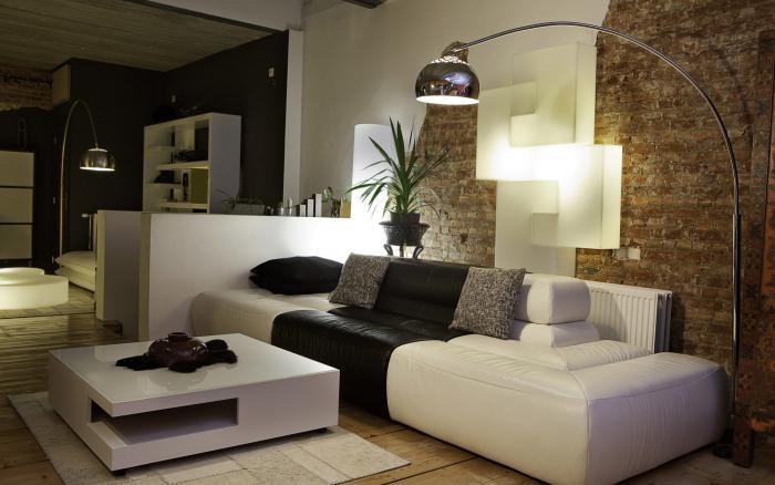 Фото дизайна обоев для зала