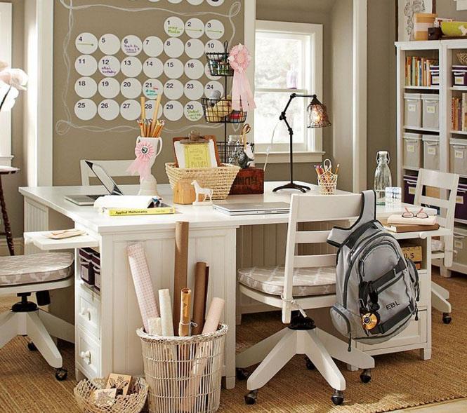 Варианты исполнения столов для школьника 13