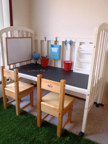 Стол для двоих школьников 7