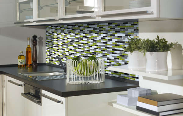 Плитка в интерьере кухни - 3