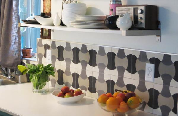 Плитка в интерьере кухни - 4