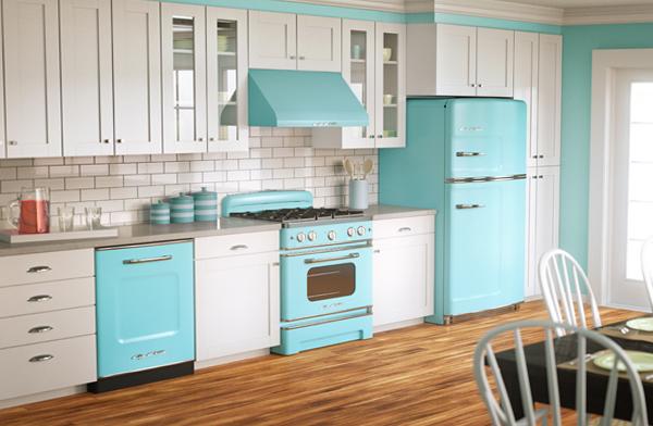 Плитка в интерьере кухни - 6