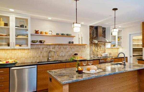Плитка в интерьере кухни (своими руками) – 1