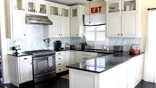 Плитка в интерьере кухни (своими руками) - 3