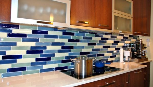 Плитка в интерьере кухни (своими руками) - 4