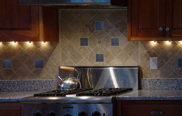 Плитка для кухни (диагональная укладка) – 2