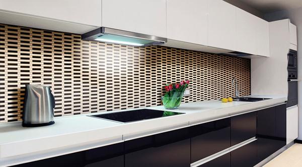 Плитка в интерьере кухни (фартук) - 2