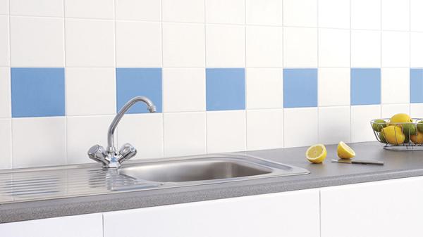 Плитка в интерьере кухни (фартук) - 6