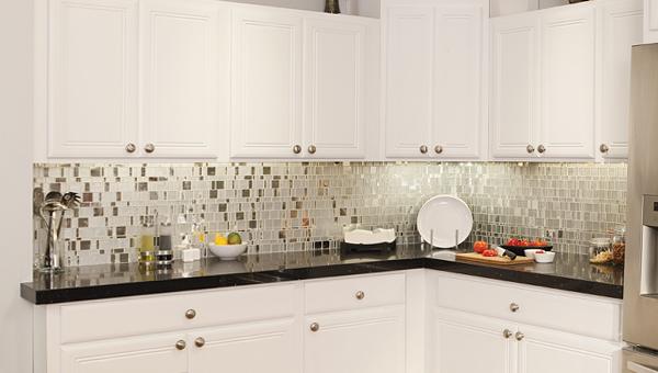 Плитка в интерьере кухни (керамогранитная) – 1