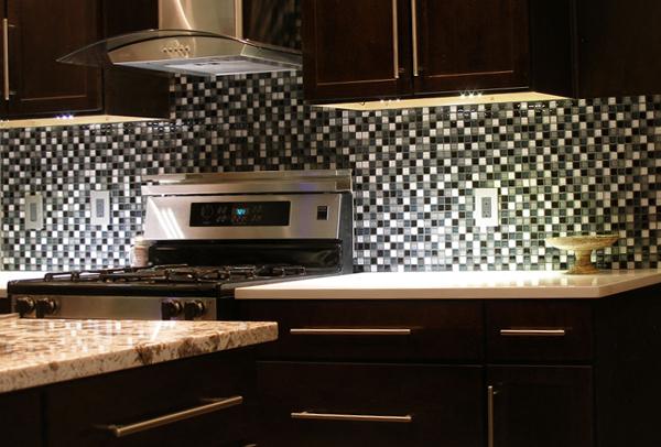 Плитка для кухни (мозаичная укладка) – 2