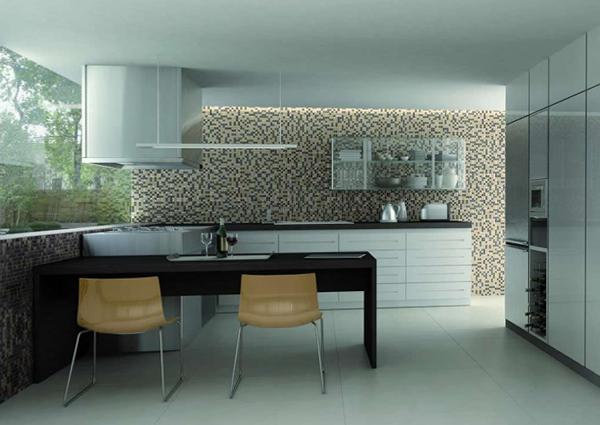 Плитка для кухни (мозаичная укладка) – 3