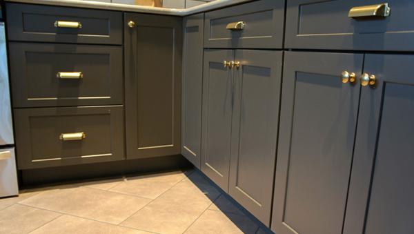 Плитка в интерьере кухни (напольная) - 5