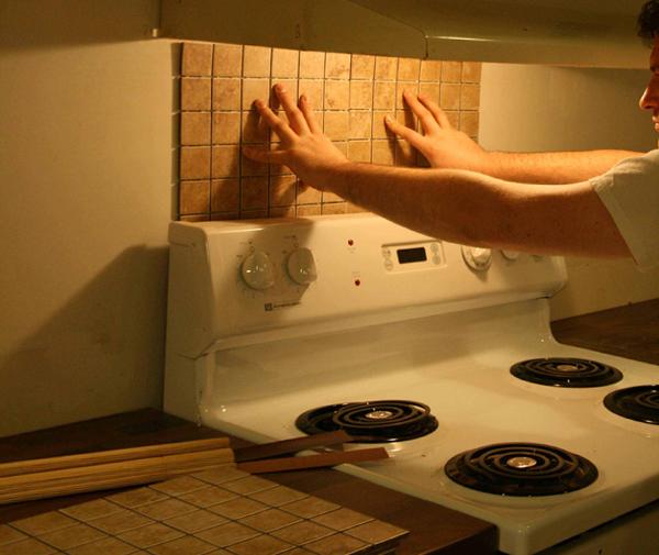 Плитка в интерьере кухни (своими руками) - 2